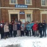 Klub Jizerka na výletě v Jitravě a Rynolticích